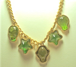 Trifari Sea Glass Design Necklace - Antique & Collectible Exchange from tace.com